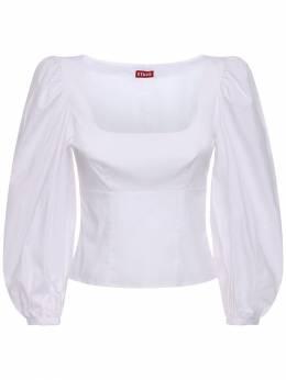 Рубашка Из Полухлопкового Поплин Staud 72IDP6023-V0hU0