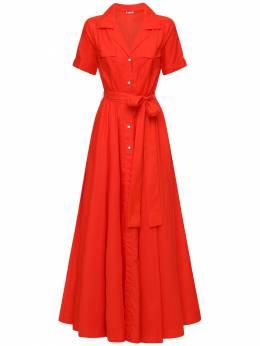 Платье Из Переработанного Нейлона Staud 72IDP6028-UkVE0