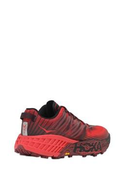 Speedgoat 4 Trail Running Sneakers Hoka One One 72IDN7007-Q0hSUkQ1