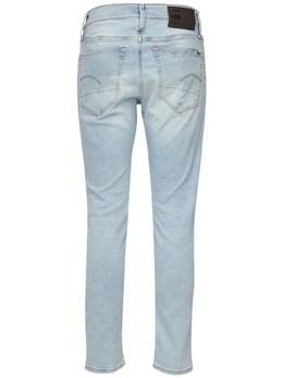 3301 Slim Cotton Denim Jeans G-Star 72IDMF001-QjQ3Ng2