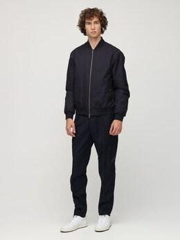 Куртка-бомбер С Логотипом Z Zegna 72ID3C010-QjA50