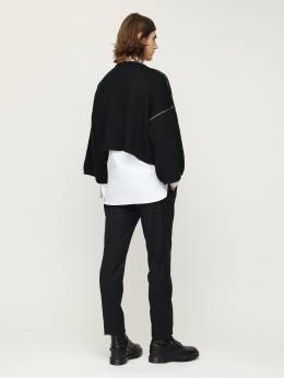 Over Rs Jacquard Wool Sweater Raf Simons 72ID0W022-MDAwOTk1