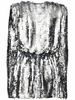 Короткое Платье С Пайетками Amen 72IB4U011-MDE40