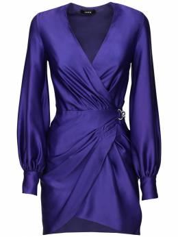 Короткое Платье Из Атласа Amen 72IB4U006-MDQ20