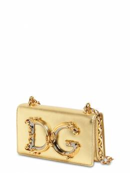 Сумка Dg Girls Из Кожи Металлик Dolce&Gabbana 72IAOQ009-ODk4Njk1
