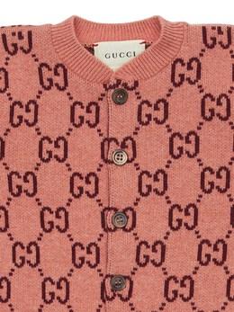Трикотажный Комбинезон Из Жаккарда Gucci 72IFH6018-NTY4OA2