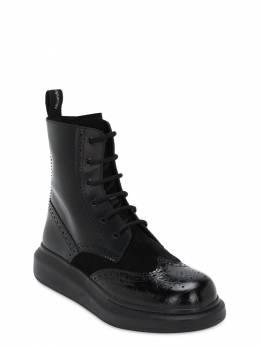Ботинки Из Кожи Alexander McQueen 72IA9U013-MTAwMA2