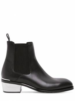 Кожаные Ботинки Alexander McQueen 72IA9U008-MTA4MQ2