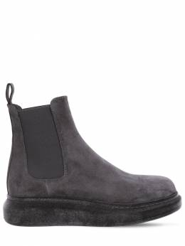 Замшевые Ботинки-челси Alexander McQueen 72IA9U005-ODE4Mw2