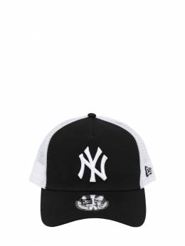 Clean Trucker Ny Yankees Cap W/ Mesh New Era 72IXME017-QkxLV0hJ0