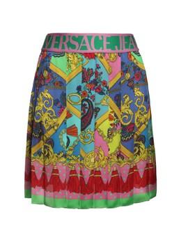 Юбка Из Джерси Стретч Versace Jeans Couture 72IA88009-NDQ10