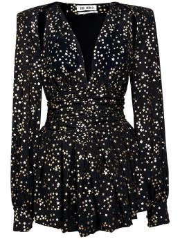Платье Из Шифонового Жаккарда The Attico 72IXJE033-MTA10