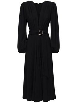 Платье Миди Из Крепа Maria Lucia Hohan 72I9VL017-QkxBQ0s1
