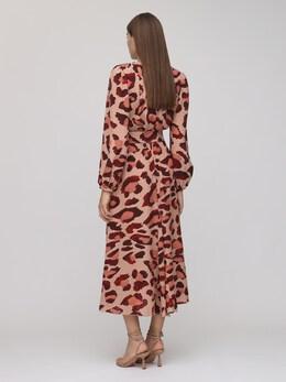 Платье Миди Из Крепа Maria Lucia Hohan 72I9VL016-TlVERQ2