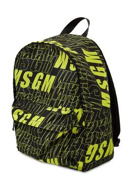 Рюкзак Из Нейлона С Логотипом MSGM 72I93G033-MTEwLzI40