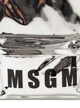 Рюкзак С Зеркальным Эффектом С Логотипом MSGM 72I93G031-MTIy0