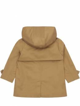 Hooded Cotton Trench Coat Burberry 72I937055-QTEzNjY1