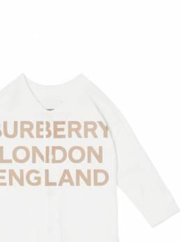 Cotton Jersey Romper & Hat Burberry 72I937029-QTE0NjQ1