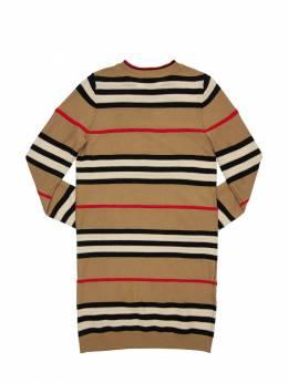 Трикотажное Платье Из Шерсти Burberry 72I91L020-QTcwMjY1