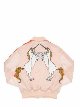 Куртка-бомбер С Принтом Unicorn Burberry 72I91L011-QTE0Mzk1