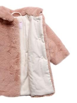 Faux Fur Coat Il Gufo 72I8ZB009-MzM00