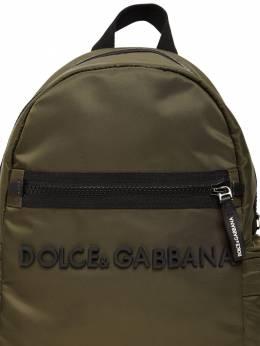 Рюкзак Из Нейлона С Логотипом Dolce&Gabbana 72I8YQ049-OEI2MTI1