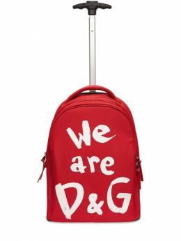 Рюкзак Из Нейлона На Колёсиках Dolce&Gabbana 72I8YQ052-ODAzMDQ1