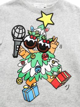 "Свитшот Из Хлопка ""christmas Tree"" Stella McCartney Kids 72I6SJ002-MTQ2MQ2"