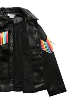 Куртка Из Искусственной Кожи Stella McCartney Kids 72I6SH003-MTAwMA2