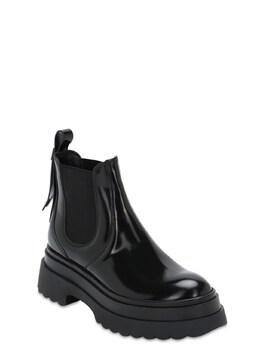 "Кожаные Ботинки ""chelsea"" 40мм Red Valentino 72I82D002-ME5P0"