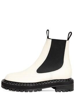 Кожаные Ботинки 30мм Proenza Schouler 72I82B006-MTIxMTM1