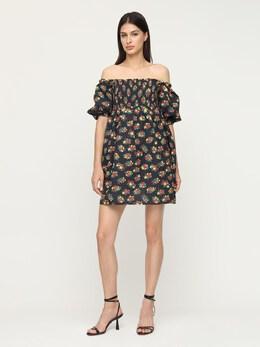 Короткое Платье Из Район И Льна Rixo 72I7PV025-R0FSREVOIERJVFNZIEJM0