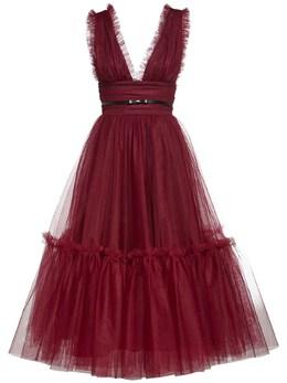 Платье Из Тюля С Оборками Brognano 72I5V9010-NzU1