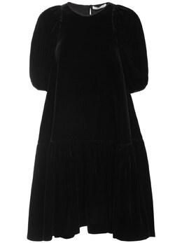 Платье Из Бархата Cecilie Bahnsen 72I5VD012-QkxBQ0s1