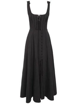Полухлопковое Платье Brock Collection 72I5V4006-MDAx0