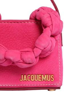 "Кожаная Сумка ""le Petit Sac Noeud"" Jacquemus 72I5CK079-NDUw0"