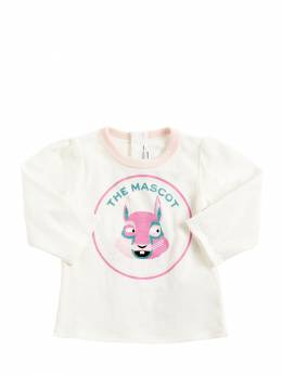 Футболка Из Хлопкового Джерси Little Marc Jacobs 72IFH2019-MTE30