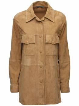 Замшевая Куртка Alberta Ferretti 72I51M042-MTQ50