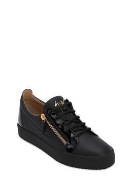Кожаные Кроссовки May London Giuseppe Zanotti Design 72I4QA012-MDAz0