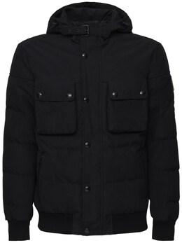 Нейлоновая Куртка С Капюшоном Belstaff 72I3GB013-OTAwMDA1