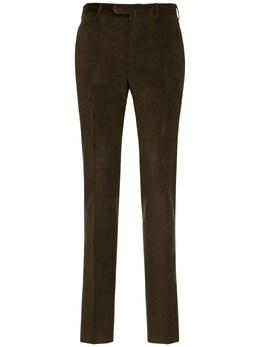 Брюки Из Хлопкового Вельвета Pantaloni Torino 72I3IN001-MDQ0NQ2