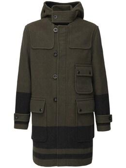 Шерстяное Пальто С Капюшоном Belstaff 72I3GB015-MDI5MTU1