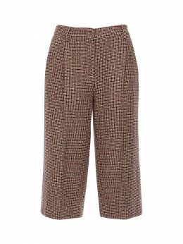 Micro Houndstooth Bermuda Pants Lardini 72I3JZ012-MjUwUQ2