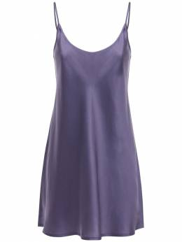 Silk Satin Mini Dress La Perla 72I338021-TDE1Mw2