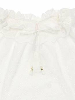 Рубашка Из Хлопкового Кружева Zimmermann 72I1VP013-SVZP0
