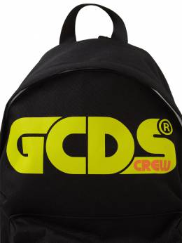Рюкзак Из Нейлонового Канвас С Принтом Логотипа GCDS 72I1V6021-MTEwLzI40