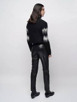 Intarsia Mohair Blend Turtleneck Sweater Saint Laurent 72I25Z047-MTkxMw2