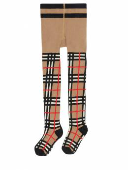 Vintage Check Stretch Cotton Tights Burberry 72I1VI035-QTcwMjY1
