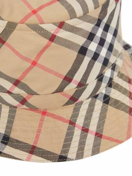 Check Cotton Gabardine Bucket Hat Burberry 72I1VI020-QTcwMjg1