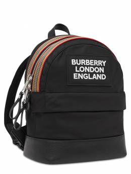 Nylon Backpack W/ Rubber Patch Burberry 72I1VI013-QTExODk1